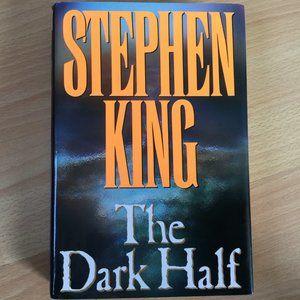 The Dark Half: 1989 Steven King 1st Edition HC